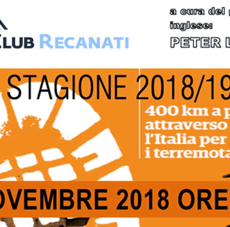 Presentazione Stagione 2018/2019