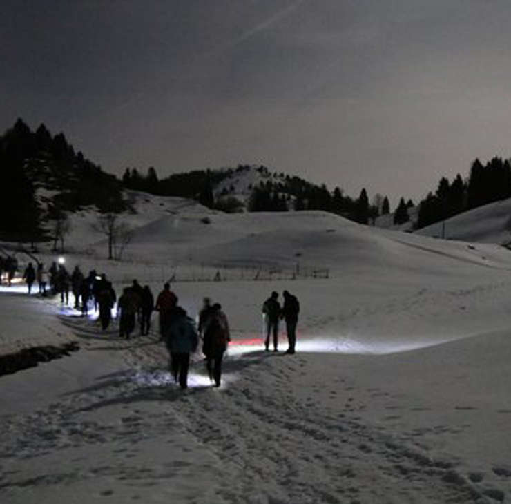 Ciaspolata Notturna: Monti Sibillini