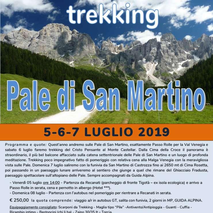 Pale di San Martino 5- 7 luglio 2019